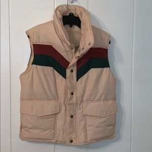 Vtg 80s Foxfire by White Stag puffer vest